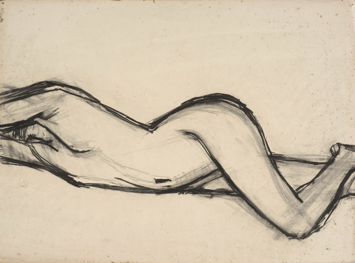 "<span class=""title"">Stretching Figure<span class=""title_comma"">, </span></span><span class=""year"">c.1957</span>"