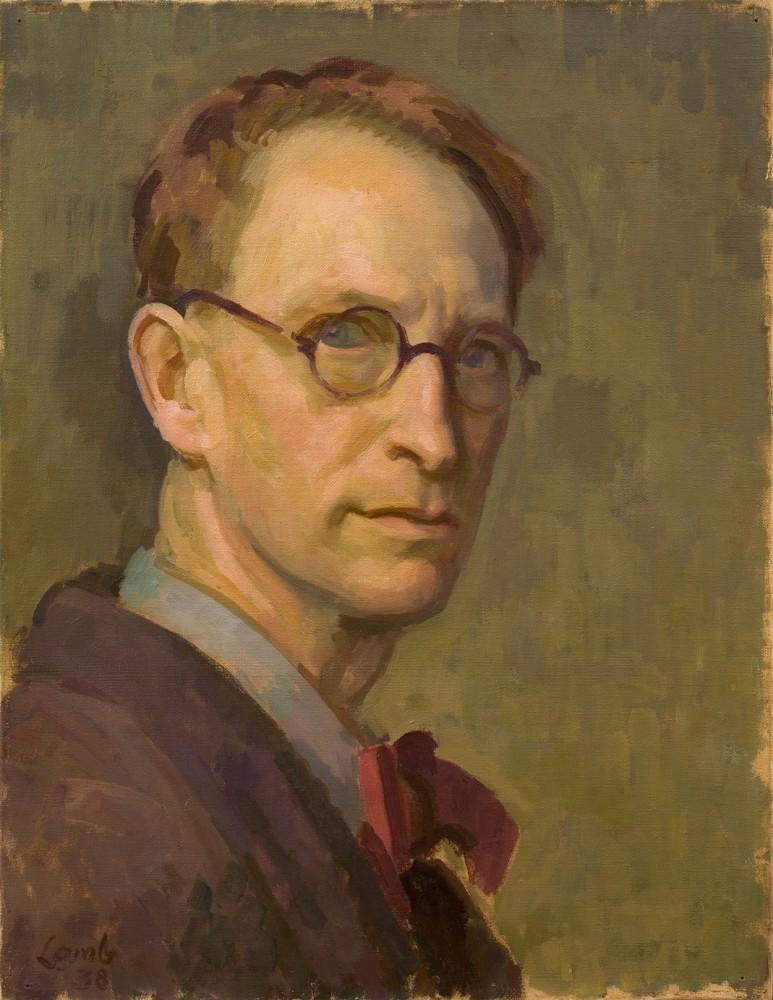 Henry Lamb, Self-Portrait, 1938