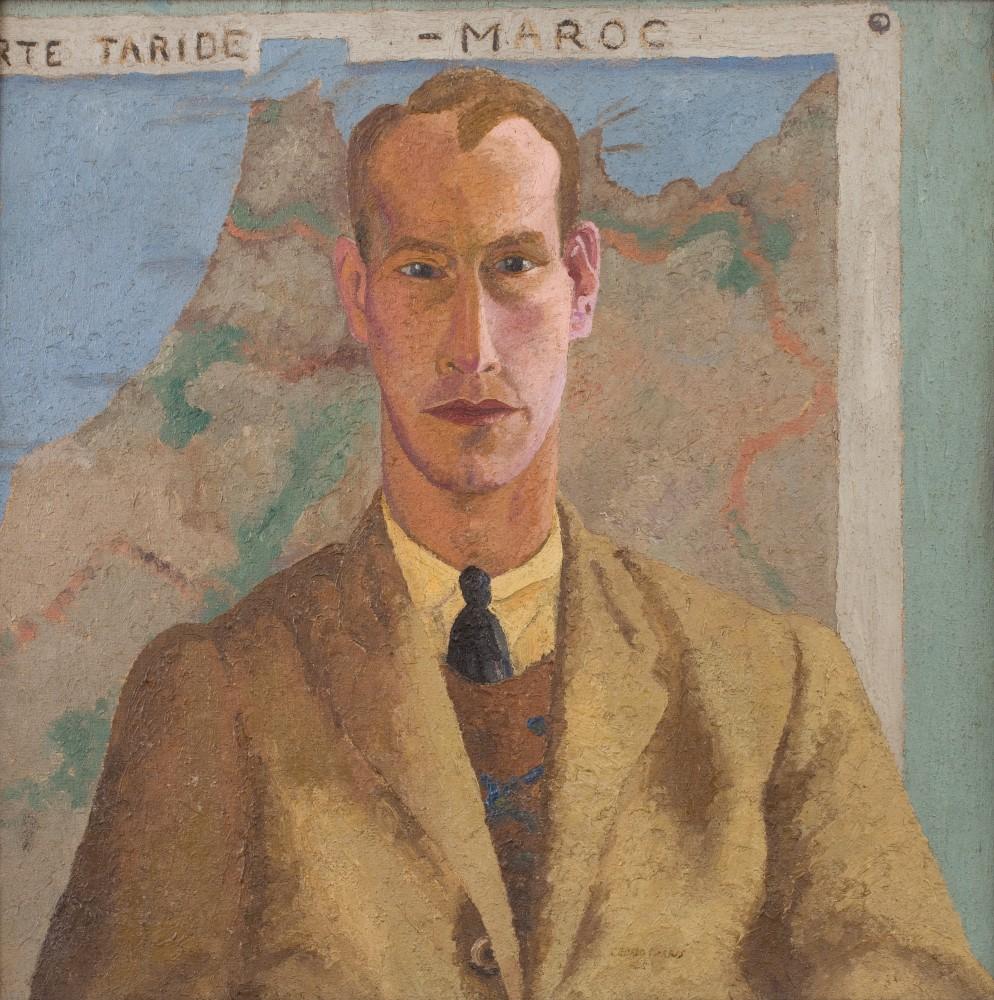 Cedric Morris, Portrait of Lett Haines, 1925