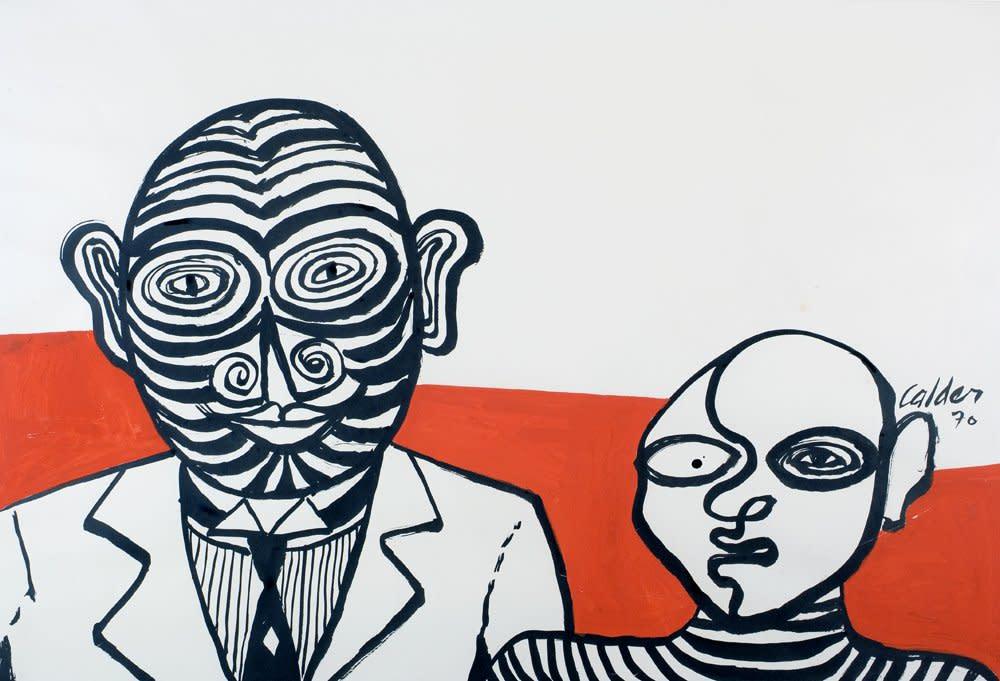 Alexander Calder, Stripes and Stripes, 1970
