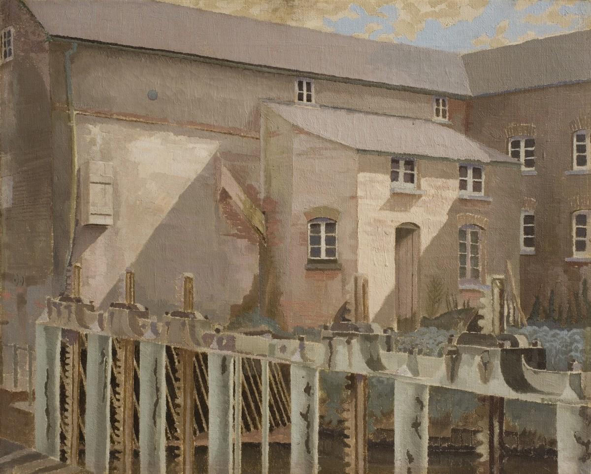 Sir Stanley Spencer, The Mill, Durweston, 1920