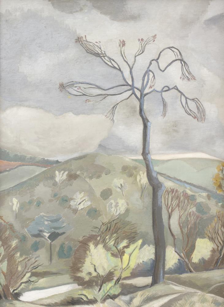 Paul Nash, Autumn Landscape, 1923