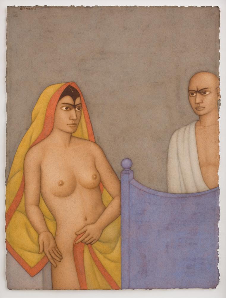 Shanti Panchal, The Sari After Gertler, 2016