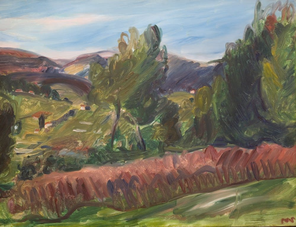 Sir Matthew Smith, Landscape, Provence, c.1932
