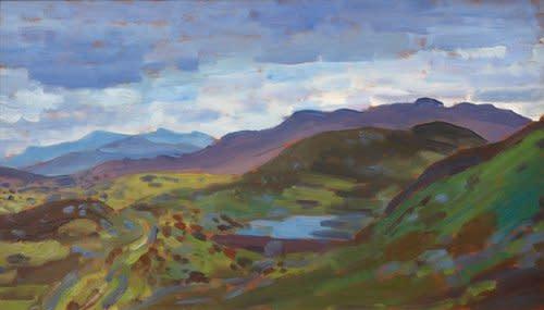Augustus John, Welsh Mountains, c.1911-12