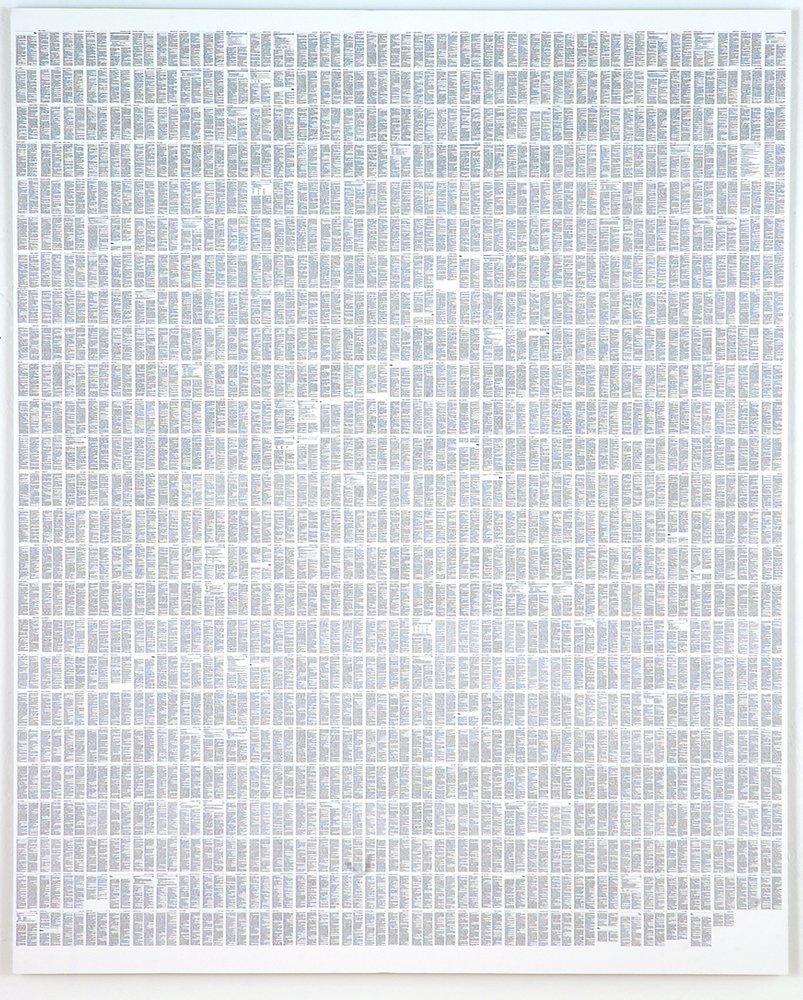 <span class=&#34;link fancybox-details-link&#34;><a href=&#34;/artists/19-richard-rigg/works/342/&#34;>View Detail Page</a></span><div class=&#34;artist&#34;><strong>Richard Rigg</strong></div> <div class=&#34;title&#34;><em>A-Z Text Patterns</em>, 2004</div> <div class=&#34;medium&#34;>Archival Inkjet mounted on Aluminium</div> <div class=&#34;dimensions&#34;>118 x 132 cm<br />46 1/2 x 52 in</div> <div class=&#34;edition_details&#34;>edition of 3 plus 1 artist's proofs</div>
