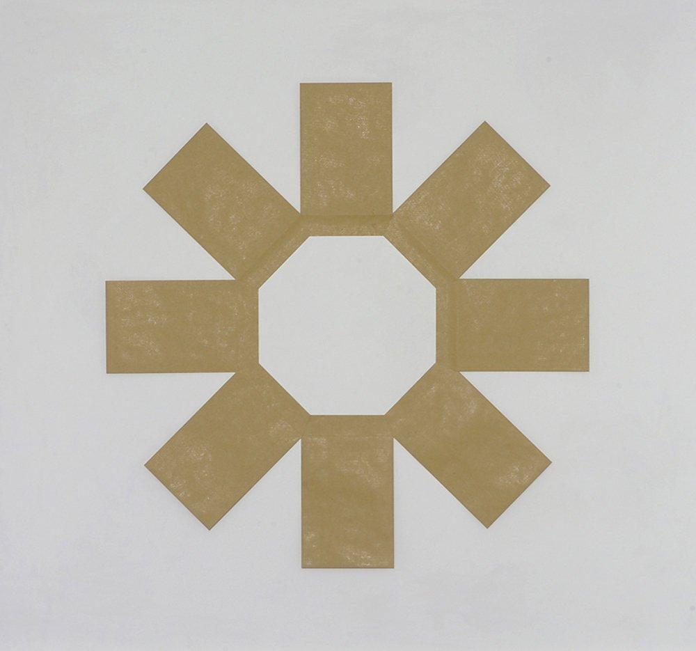 <span class=&#34;link fancybox-details-link&#34;><a href=&#34;/artists/19-richard-rigg/works/347/&#34;>View Detail Page</a></span><div class=&#34;artist&#34;><strong>Richard Rigg</strong></div> <div class=&#34;title&#34;><em>Envelope Octogon</em>, 2005</div> <div class=&#34;medium&#34;>Paper evelopes</div> <div class=&#34;dimensions&#34;>82 x 82 cm<br />32 1/4 x 32 1/4 in</div>