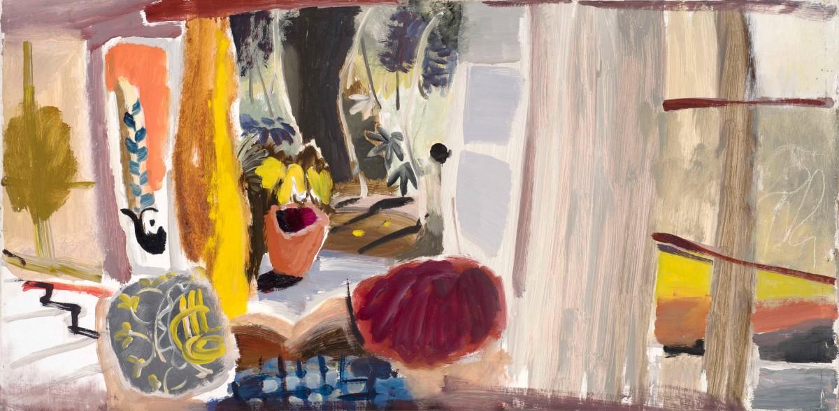 <p><strong>Ivon Hitchens,</strong><em>Studio with open Doors,</em>1942</p>