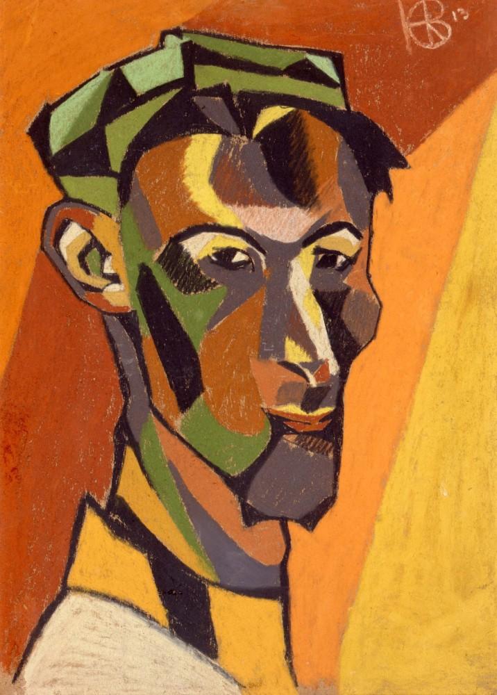 <p>Henri Gaudier-Brzeska (1891-1915), <em>Self Portrait</em> 1913</p>