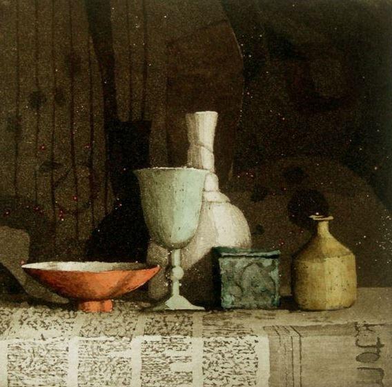 <span class=&#34;link fancybox-details-link&#34;><a href=&#34;/artists/131-annie-williams-rws-re/works/9833/&#34;>View Detail Page</a></span><div class=&#34;artist&#34;><span class=&#34;artist&#34;><strong>Annie Williams RWS RE</strong></span></div><div class=&#34;title&#34;><em>Wednesday Still Life</em></div><div class=&#34;medium&#34;>etching</div>
