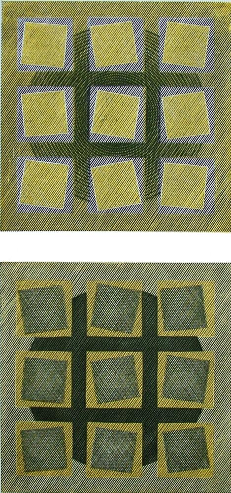 <span class=&#34;link fancybox-details-link&#34;><a href=&#34;/artists/66-edwina-ellis-re/works/9642/&#34;>View Detail Page</a></span><div class=&#34;artist&#34;><span class=&#34;artist&#34;><strong>Edwina Ellis RE</strong></span></div><div class=&#34;title&#34;><em>Squares by 2</em></div><div class=&#34;medium&#34;>wood engraving & vinyl cut</div><div class=&#34;price&#34;>£250.00</div>