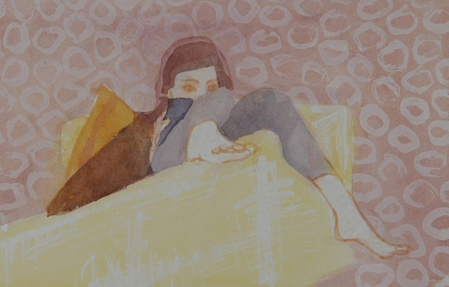 <span class=&#34;link fancybox-details-link&#34;><a href=&#34;/exhibitions/16/works/image_standalone319/&#34;>View Detail Page</a></span><p>Caroline Cornelius,&#160;<em>The Reader</em>, &#163;450</p>