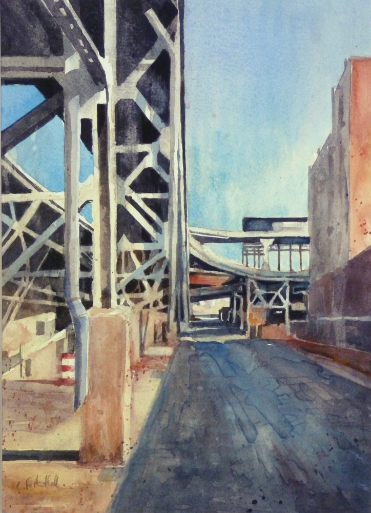 <span class=&#34;link fancybox-details-link&#34;><a href=&#34;/exhibitions/16/works/image_standalone321/&#34;>View Detail Page</a></span><p>Charles Foster-Hall,&#160;<em>Elevated line, Brooklyn NY</em>, &#163;590</p>