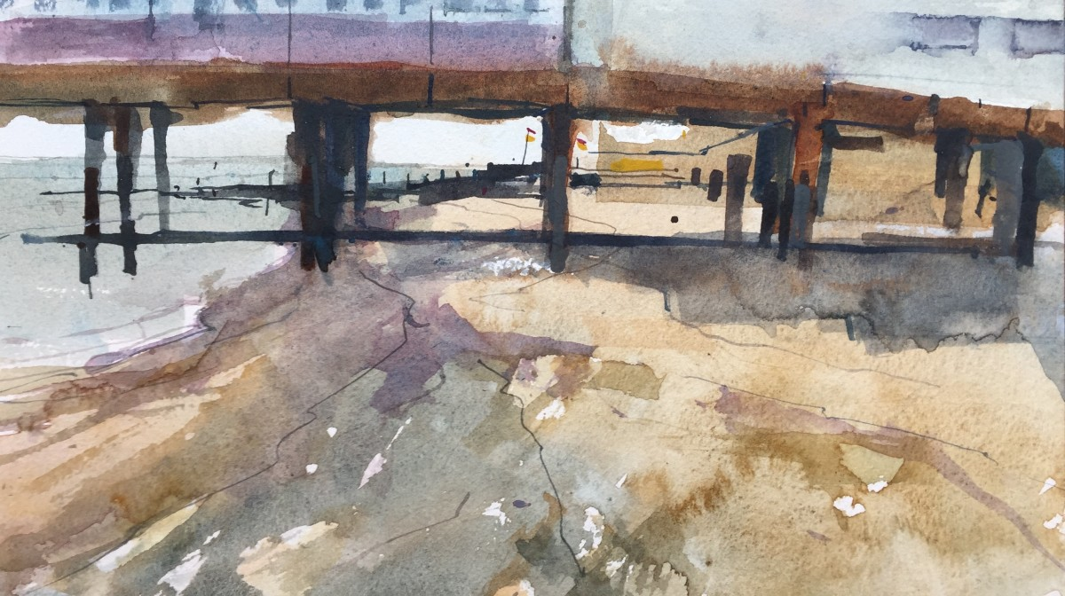 <span class=&#34;link fancybox-details-link&#34;><a href=&#34;/exhibitions/16/works/image_standalone404/&#34;>View Detail Page</a></span><p>Stanley John,&#160;<em>Under the Pier, Southwold</em>, &#163;600</p>