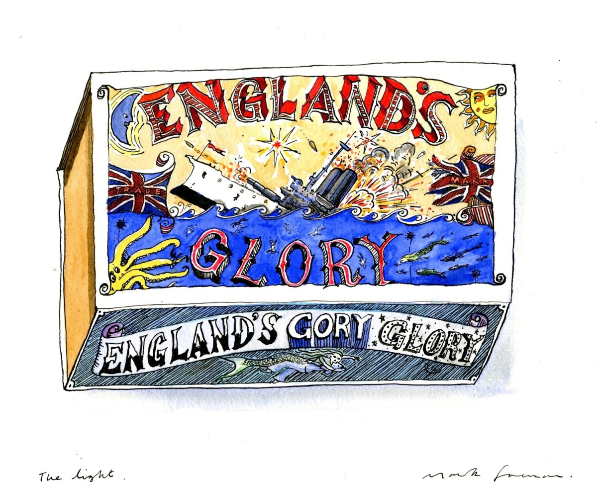 <span class=&#34;link fancybox-details-link&#34;><a href=&#34;/exhibitions/25/works/image_standalone540/&#34;>View Detail Page</a></span><p>Mark Foreman</p><p><em>England's Glory</em></p>