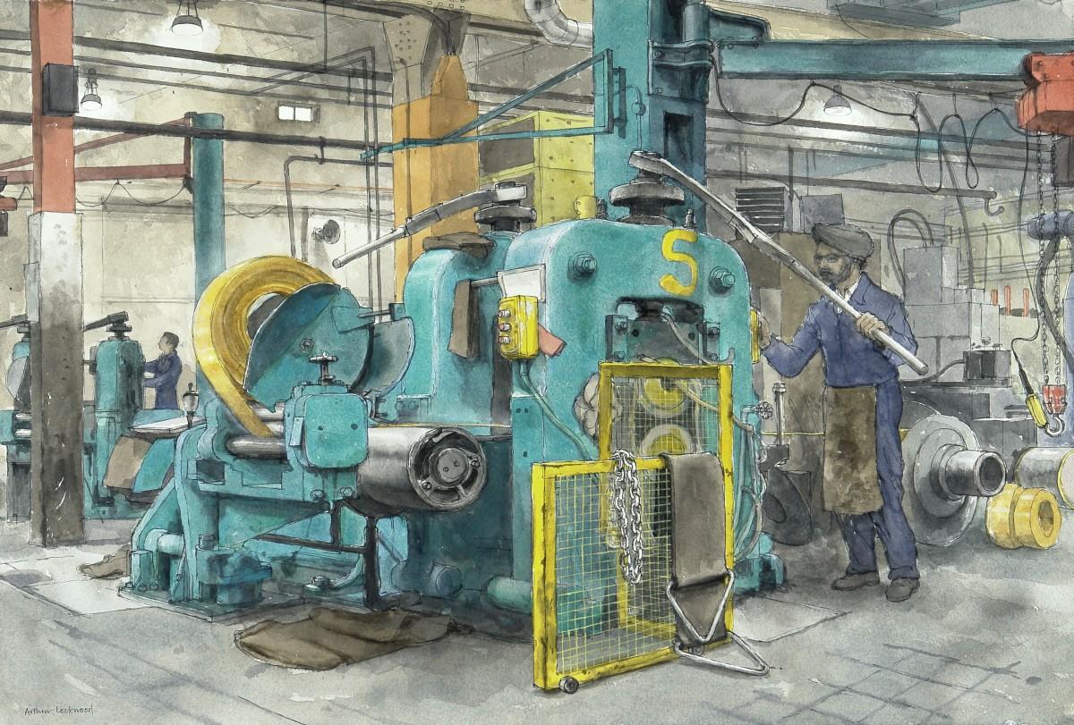 <span class=&#34;link fancybox-details-link&#34;><a href=&#34;/artists/79-arthur-lockwood/works/9557-arthur-lockwood-cold-rolling-brass-strip/&#34;>View Detail Page</a></span><div class=&#34;artist&#34;><span class=&#34;artist&#34;><strong>Arthur Lockwood</strong></span></div><div class=&#34;title&#34;><em>Cold Rolling Brass Strip</em></div><div class=&#34;medium&#34;>watercolour</div>
