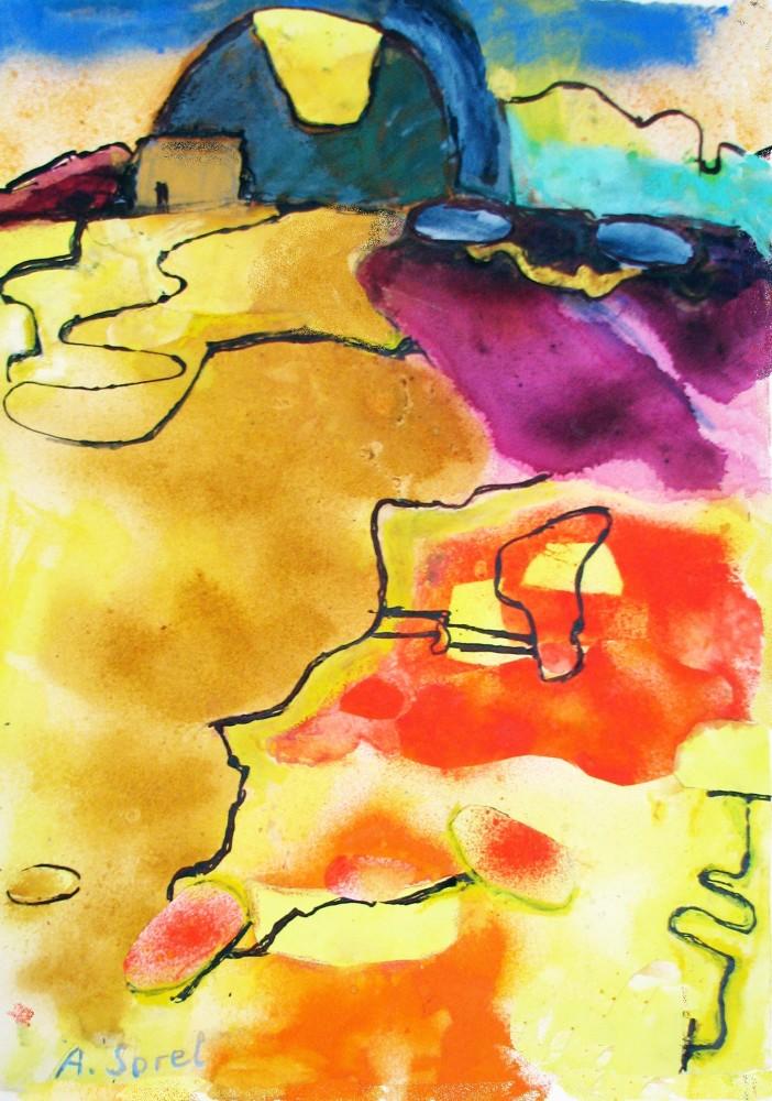 <span class=&#34;link fancybox-details-link&#34;><a href=&#34;/exhibitions/12/works/artworks_standalone9712/&#34;>View Detail Page</a></span><div class=&#34;artist&#34;><span class=&#34;artist&#34;><strong>Agathe Sorel</strong></span></div><div class=&#34;title&#34;><em>Cracked Earth</em></div><div class=&#34;medium&#34;>watercolour</div>