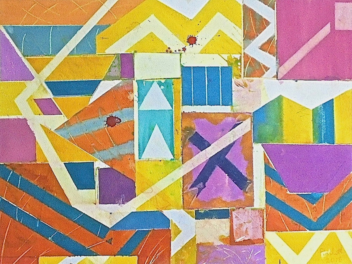<span class=&#34;link fancybox-details-link&#34;><a href=&#34;/exhibitions/12/works/artworks_standalone9718/&#34;>View Detail Page</a></span><div class=&#34;artist&#34;><span class=&#34;artist&#34;><strong>Geoffrey Pimlott</strong></span></div><div class=&#34;title&#34;><em>An Arrangement of Violets, Yellows and Blues</em></div><div class=&#34;medium&#34;>watercolour</div>