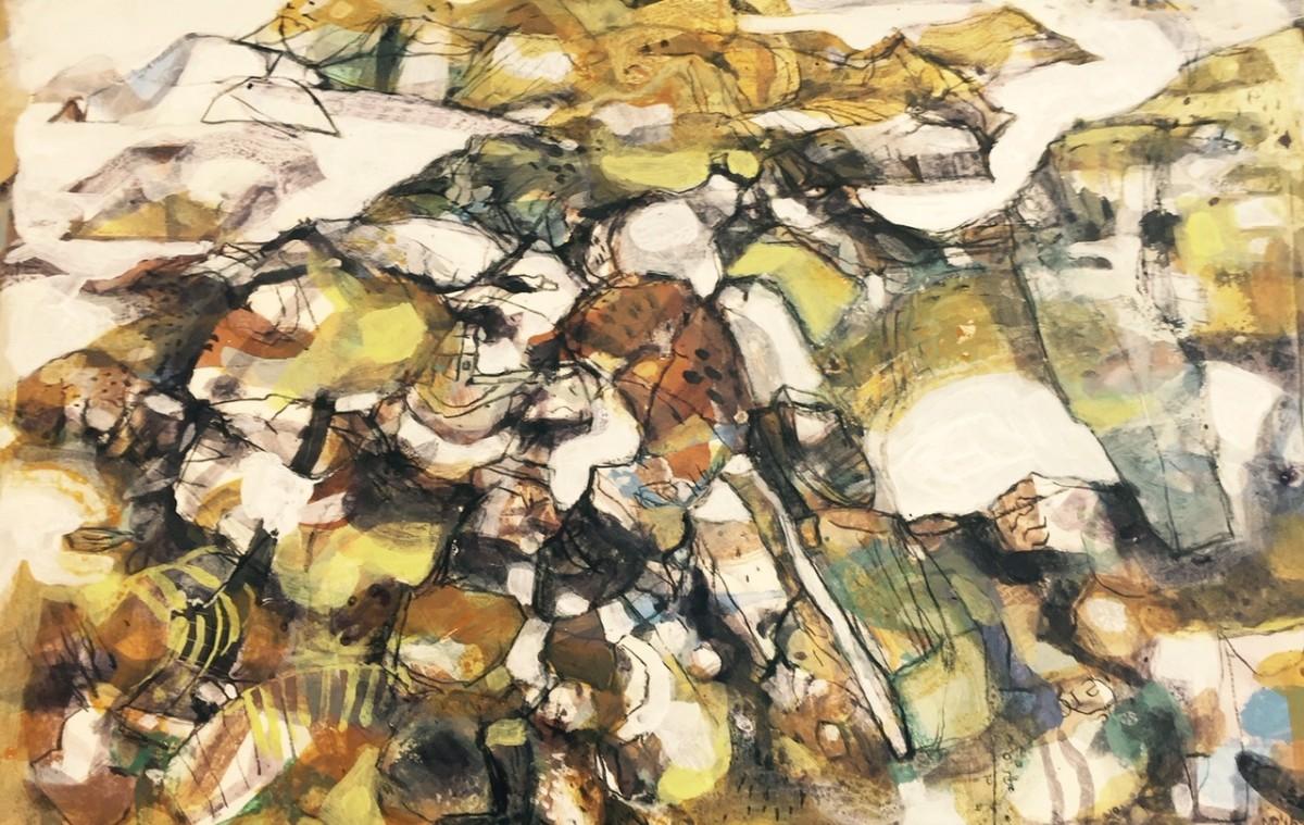 <span class=&#34;link fancybox-details-link&#34;><a href=&#34;/exhibitions/12/works/artworks_standalone9744/&#34;>View Detail Page</a></span><div class=&#34;artist&#34;><span class=&#34;artist&#34;><strong>Mark Raggett VPRWS</strong></span></div><div class=&#34;title&#34;><em>Headland II</em></div><div class=&#34;medium&#34;>watercolour</div>