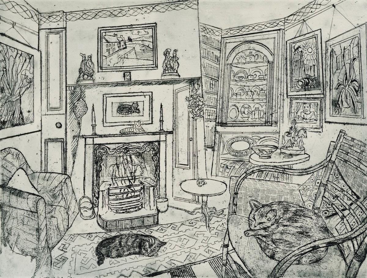 <span class=&#34;link fancybox-details-link&#34;><a href=&#34;/exhibitions/12/works/artworks_standalone9805/&#34;>View Detail Page</a></span><div class=&#34;artist&#34;><span class=&#34;artist&#34;><strong>Richard Bawden</strong></span></div><div class=&#34;title&#34;><em>Two Sisters Asleep</em></div><div class=&#34;medium&#34;>pen & ink</div>