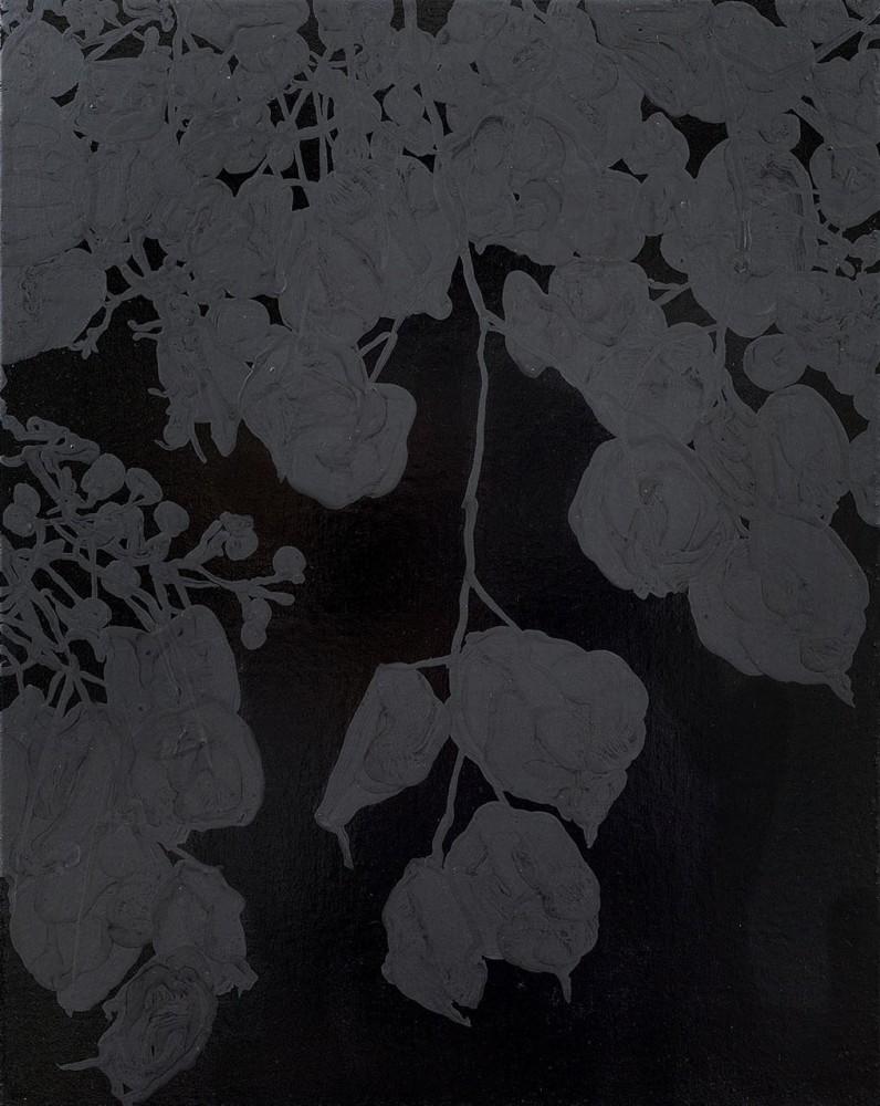 "<div class=""title""><em>Alone in the dark</em>, 2013</div><div class=""medium"">acrylic on canvas</div><div class=""dimensions"">51 x 41 cms</div>"