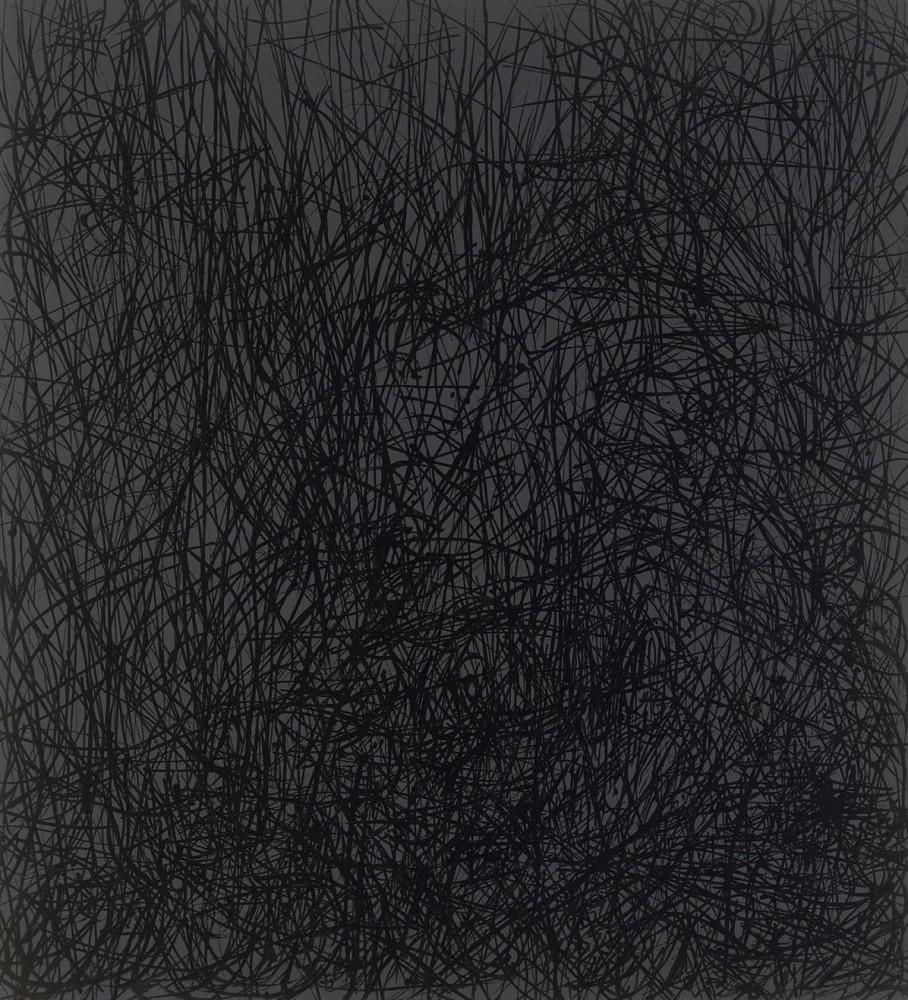 """<div class=""""title""""><em>I can dream can't I </em>, 2015</div><div class=""""medium"""">acrylic on canvas</div><div class=""""dimensions"""">107 x 97 cms</div>"""