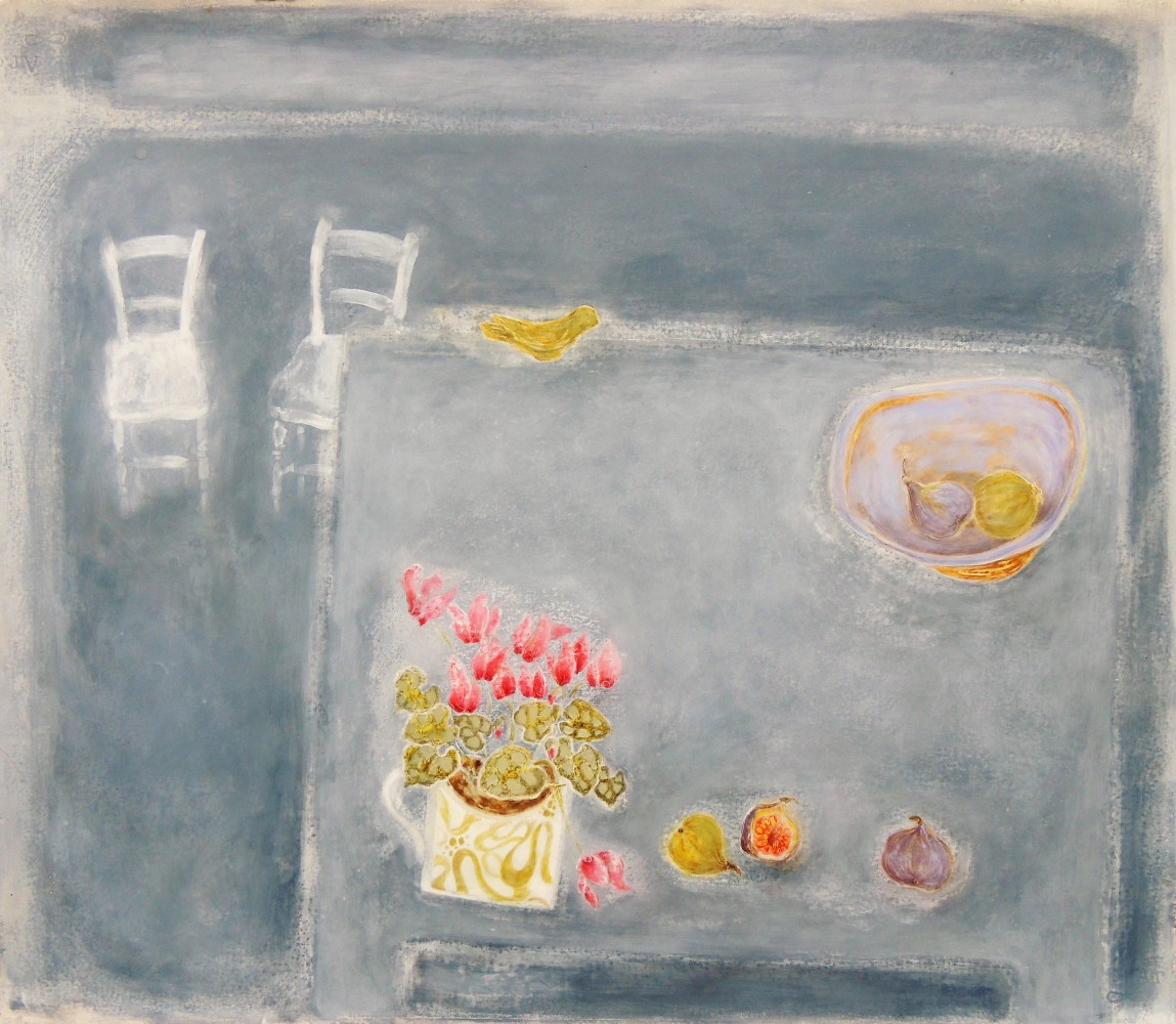 <span class=&#34;link fancybox-details-link&#34;><a href=&#34;/exhibitions/7/works/image_standalone151/&#34;>View Detail Page</a></span><p>Christie Bird,&#160;<em>Still Life with Clay Bird</em></p>