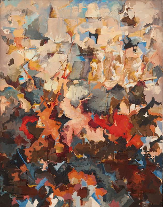 Audrey Flack: The Abstract Expressionist Years