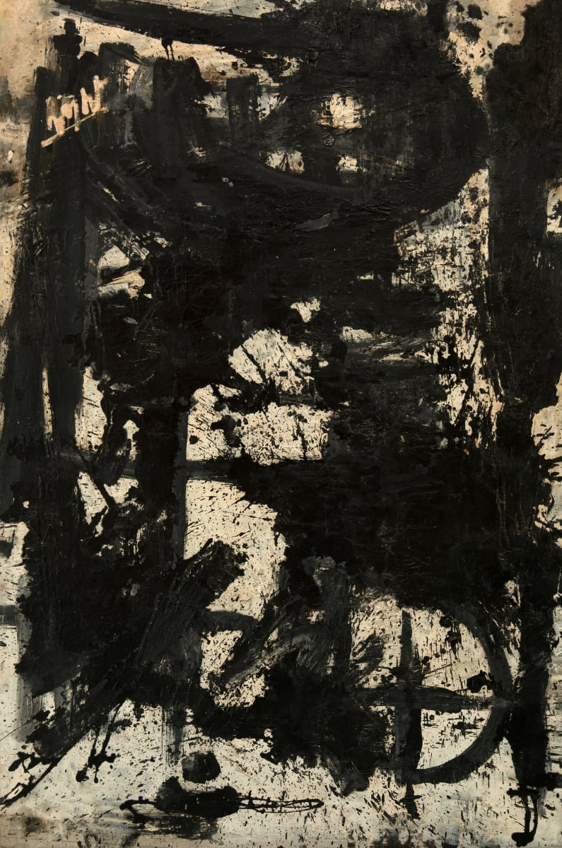 Michael (Corinne) West, Invisible Numbers, 1969, Oil and nails on canvas, 66 1/2 x 44 inches (168.9 x 111.8 cm)