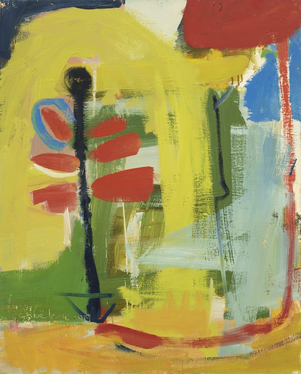 Chloë Lamb, New September, 2019, Oil on linen, 30 x 24 inches