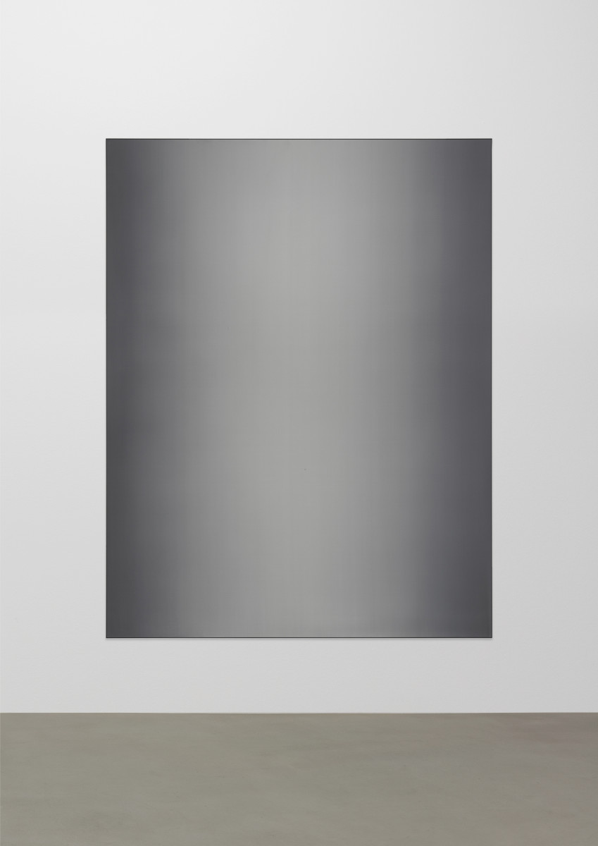 Matti Braun Untitled, 2019 Silk, dye, powder-coated aluminium 260 x 200 cm (102 3/8 x 78 3/4 x 15 3/8 in)