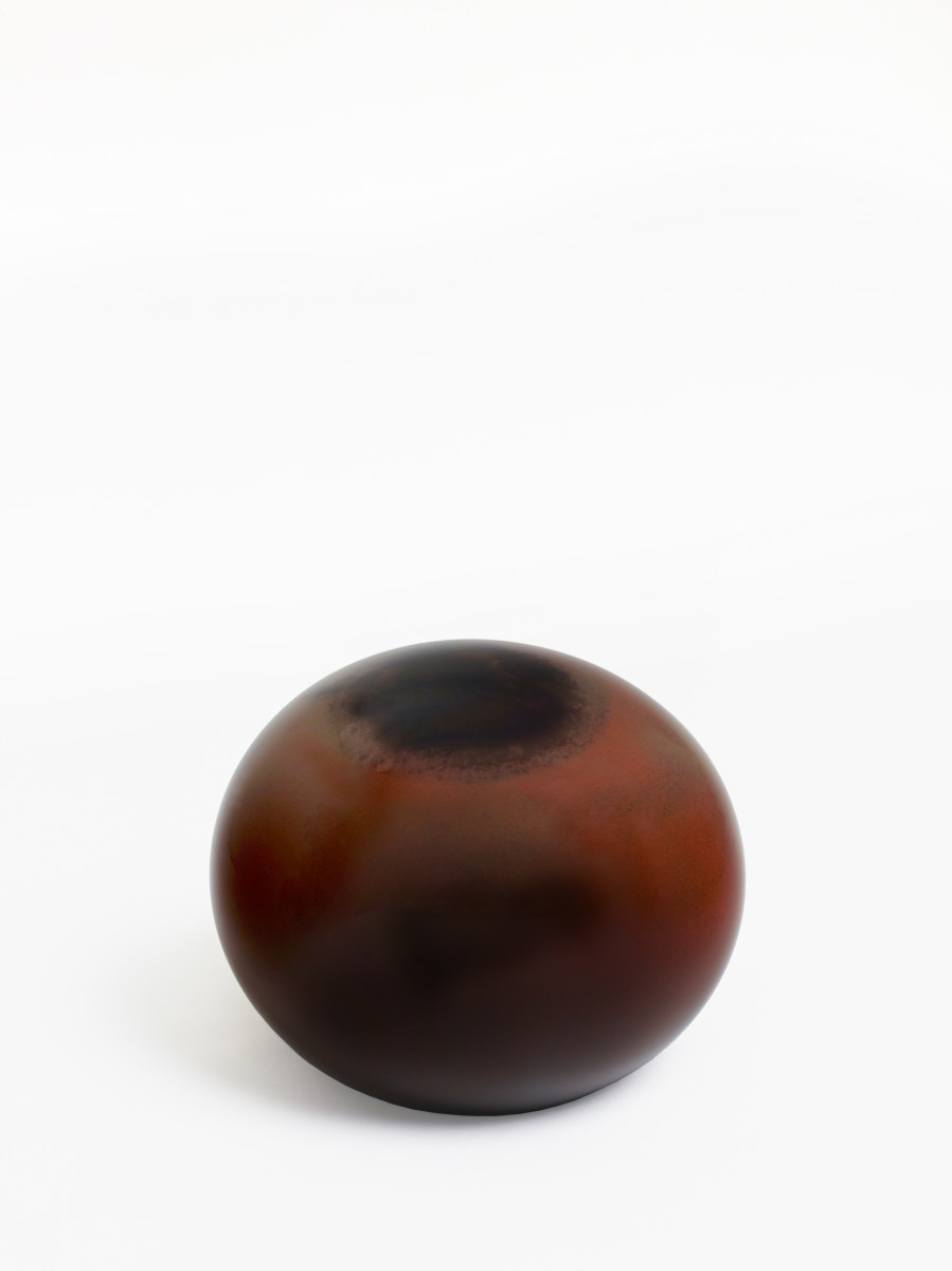 Matti Braun Untitled, 2019 Hand blown glass 20,4 x ø 25,5 cm (8 1/8 x ø 10 in)