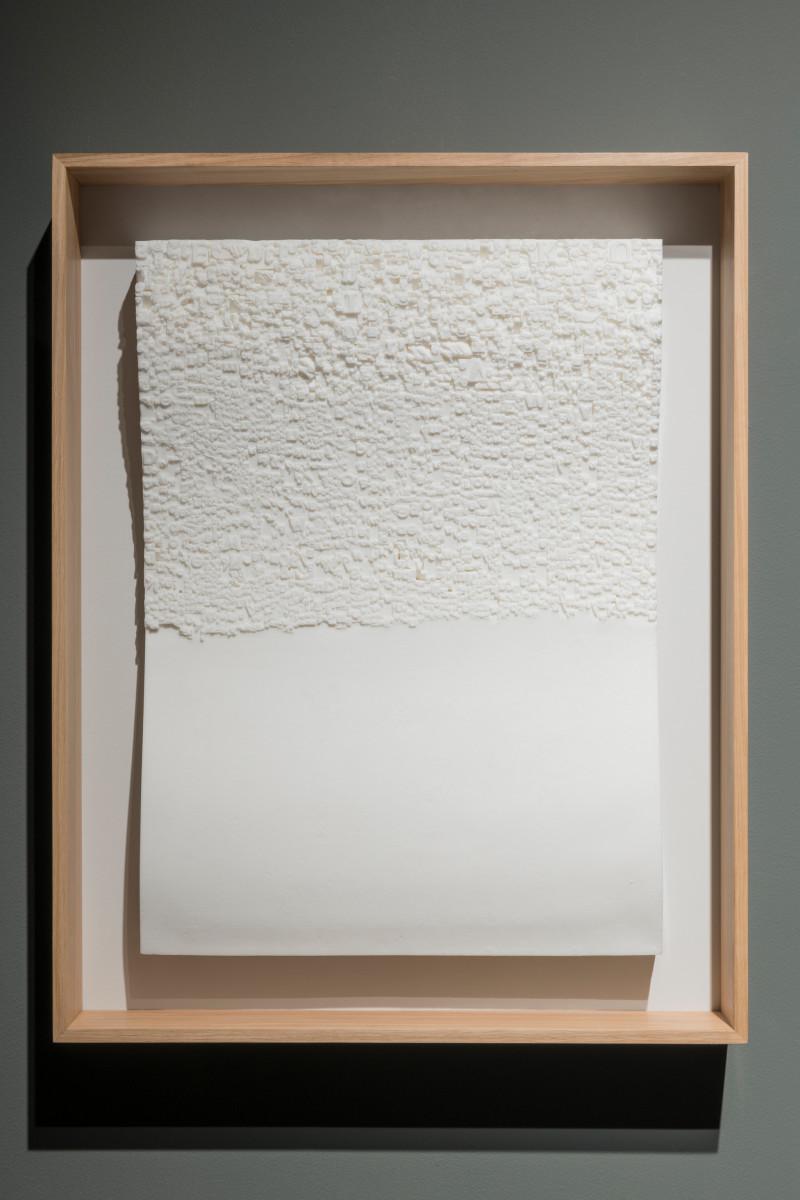 Rosa Barba Liberties, 2020 Wax, framed 69 x 50 cm (27 1/8 x 19 3/4 in) (unframed) 83 x 54 cm (32 5/8 x 25 1/4 in) (framed) Unique in a series of 7