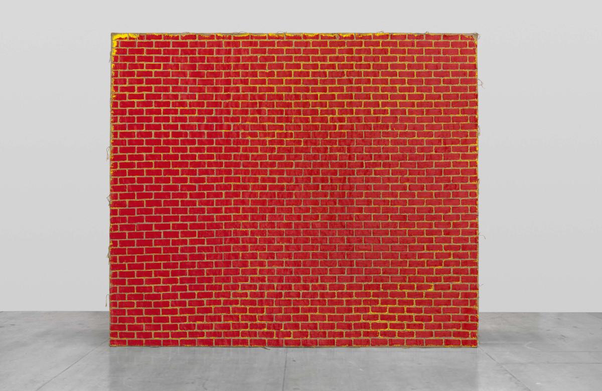 Ugo Rondinone zweiteraprilzweitausendundsiebzehn, 2017 Oil on burlap 341 x 401 cm 乌戈·罗迪纳 《二零一七年四月二号》,2017 麻布油画 341 x 401 cm