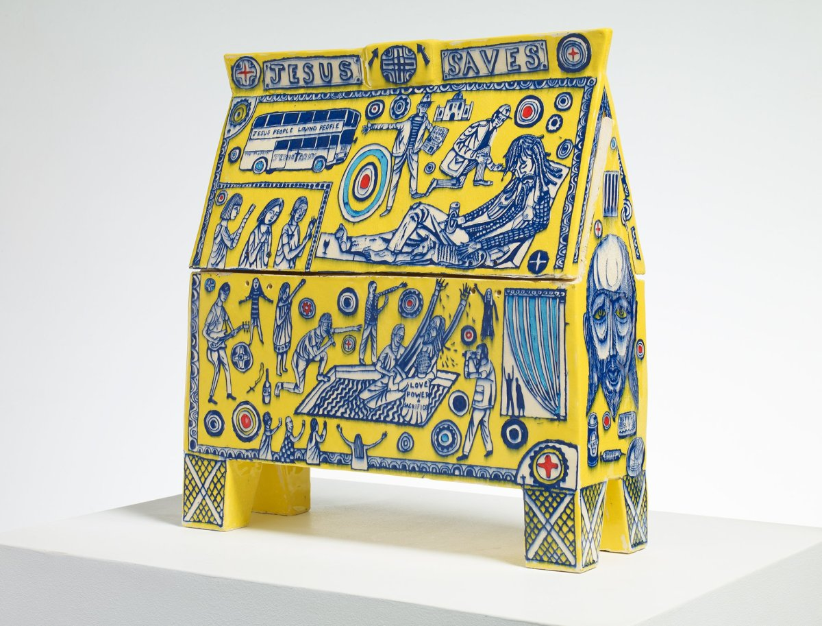 Grayson perry jesus army money box 2013 victoria miro reviewsmspy