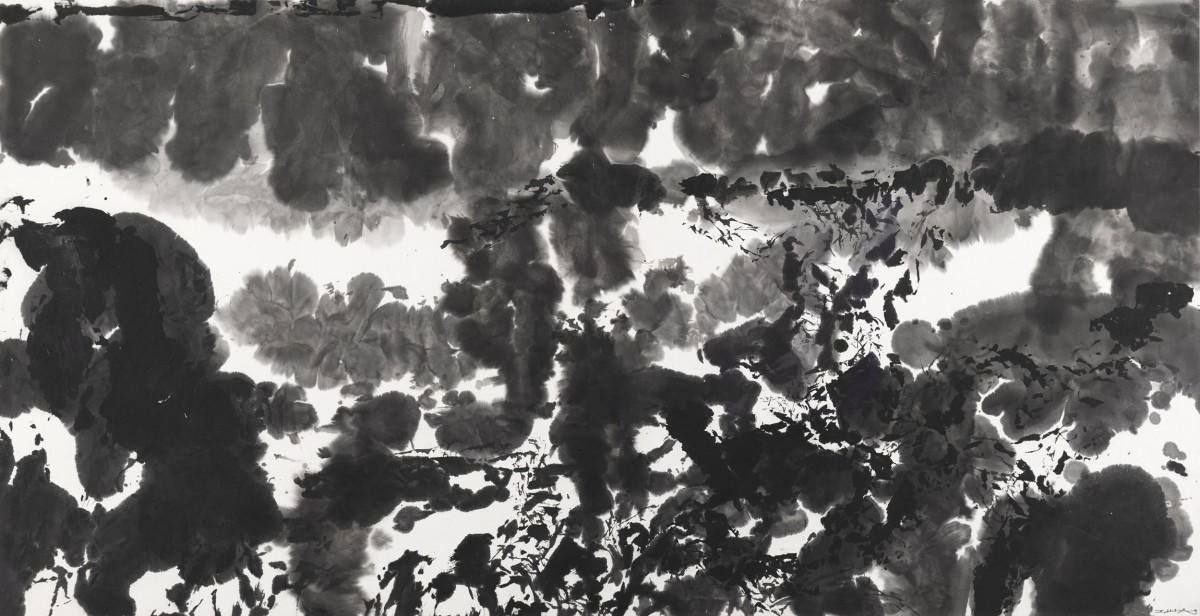 <p><em>Zao Wou- Ki, Untitled, 1981,Indian ink on paper,67.5 x 131.5 cm</em></p>