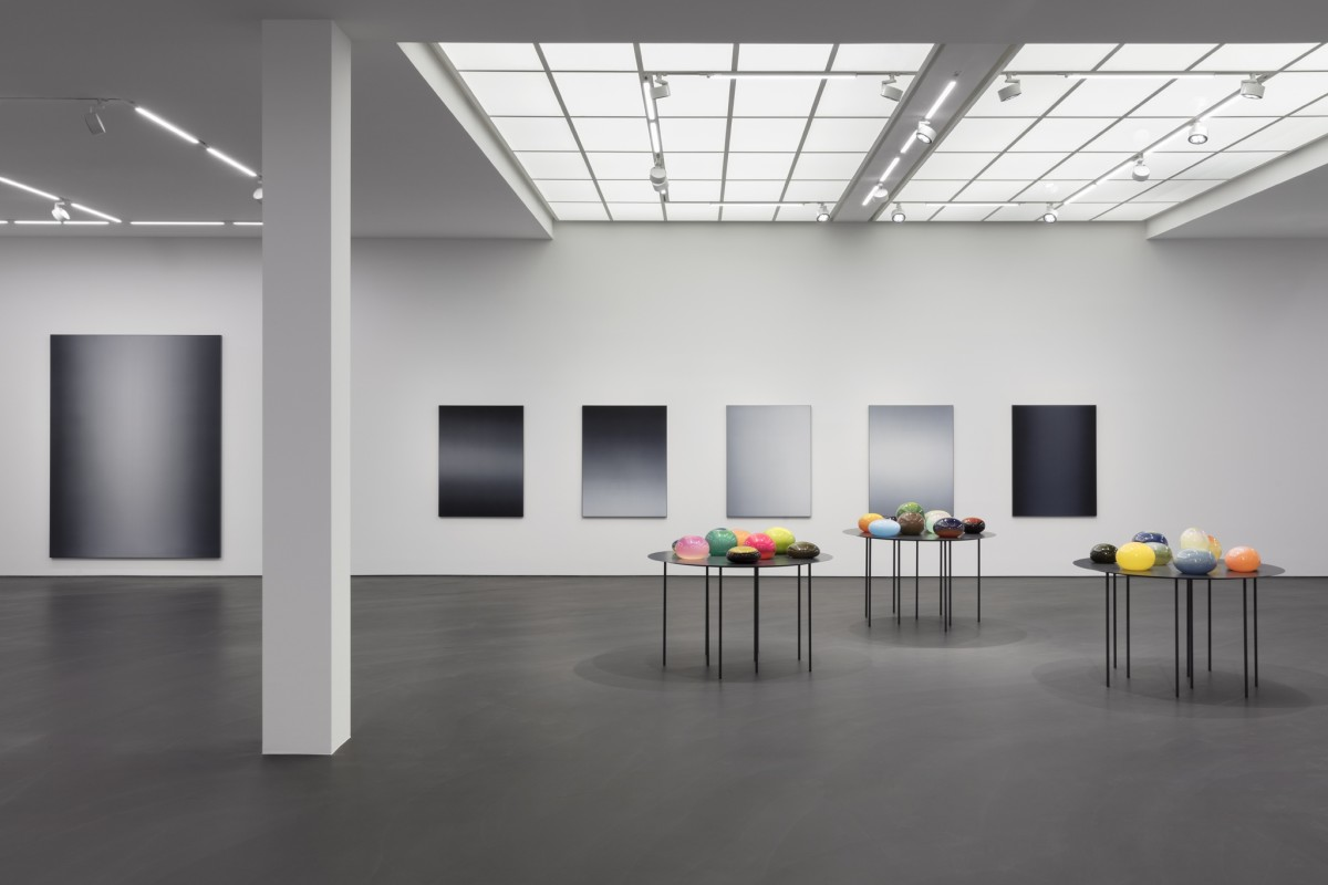 Exhibition view: Matti Braun, Ku Lak, Esther Schipper, Berlin, 2020. Photo © Andrea Rossetti