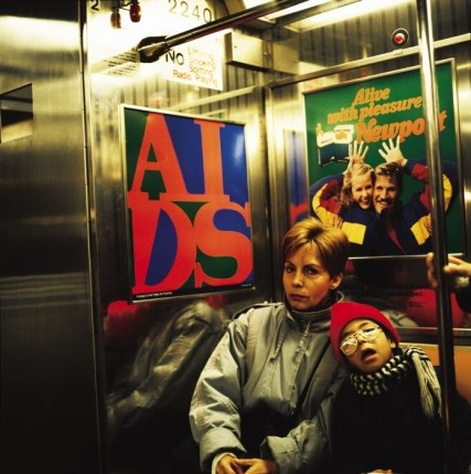General Idea, AIDS (A Project for the Public Art Fund, Inc.), 1989
