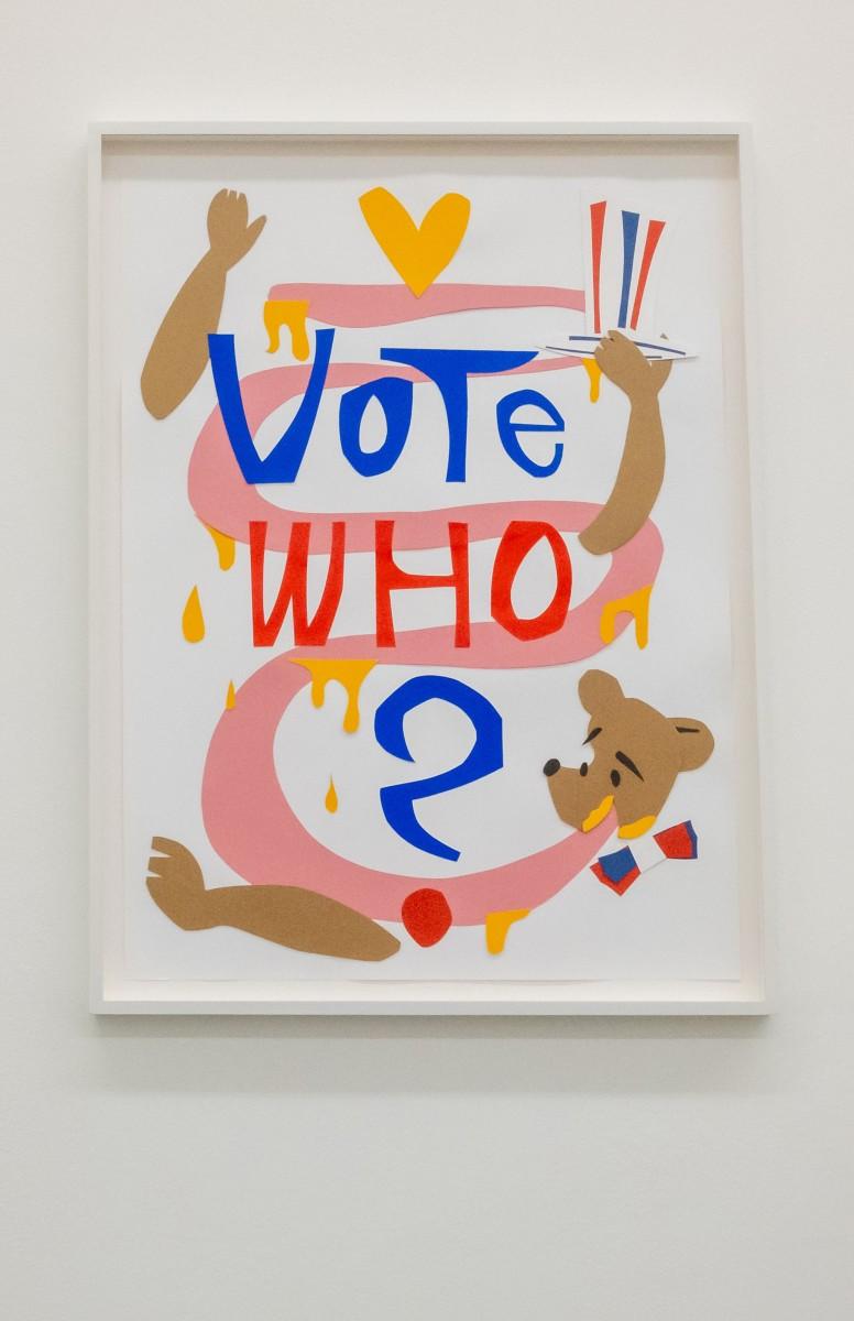 Details: Simon Fujiwara, Who for President?, 2021. Photos © Jeroen Lavèn