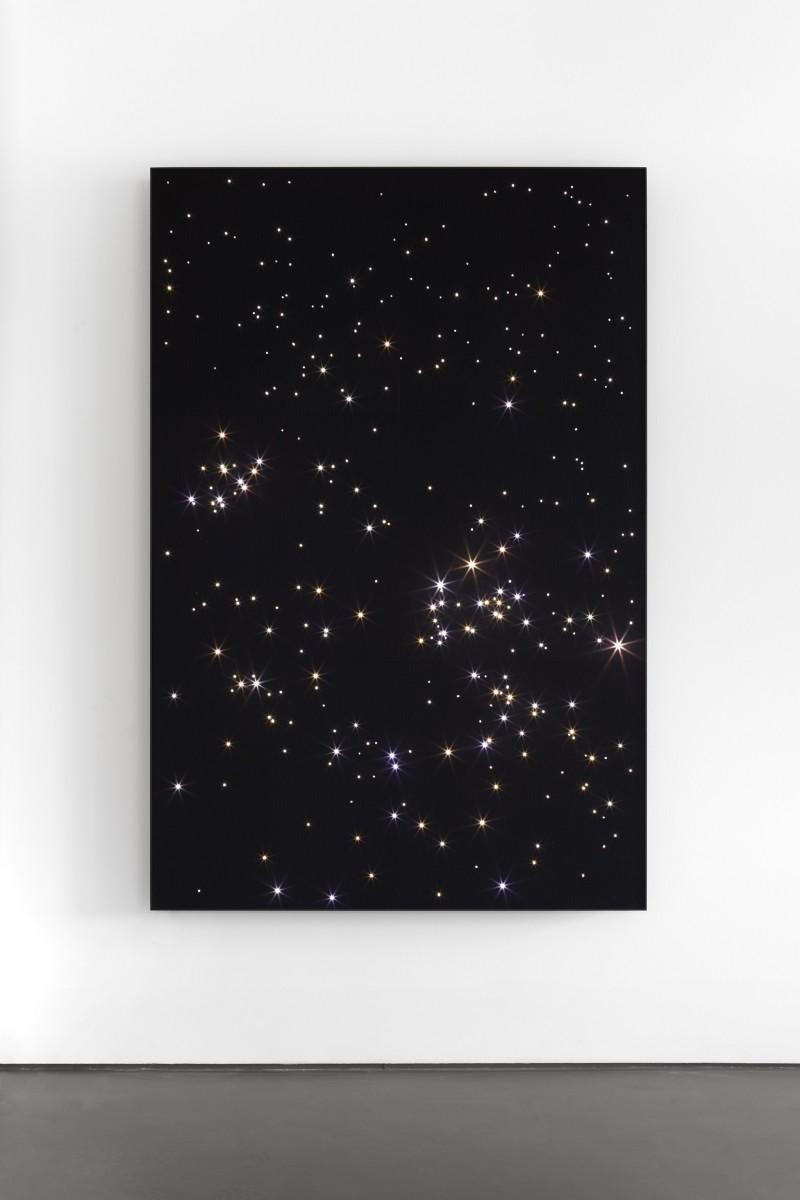 Angela Bulloch, Night Sky: Chamaeleon Reticulum.6, 2019. Photo © Carsten Eisfeld.