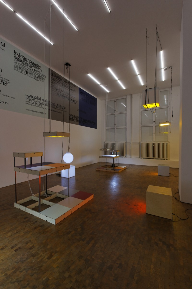 Exhibition view: REDUX, Esther Schipper, Berlin, 2010. Photo © Carsten Eisfeld