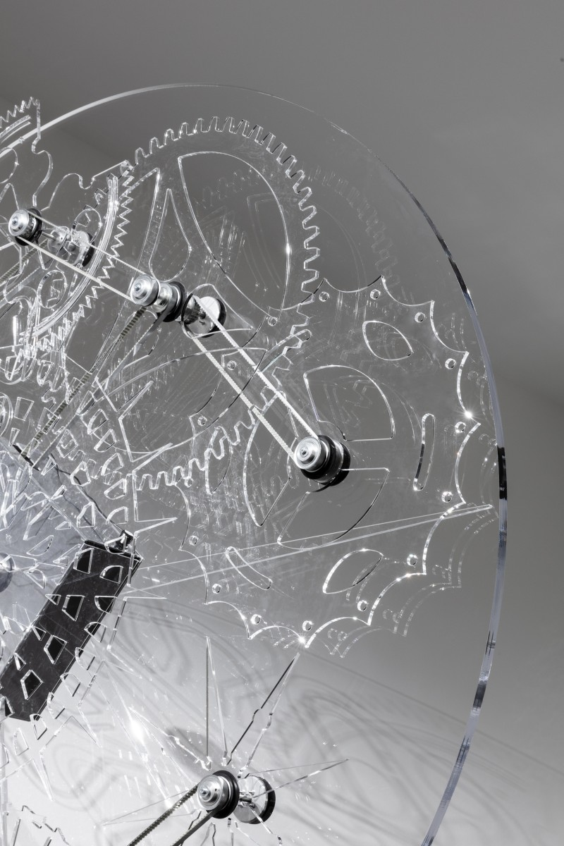 Detail: Philippe Parreno, Clock, 2020. Photo © Andrea Rossetti