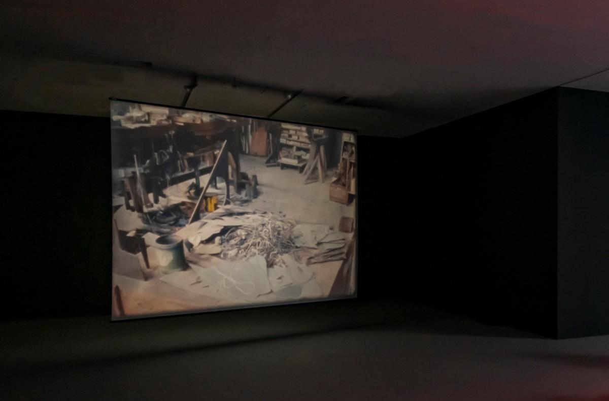 Enigmatic Whisper, 2017 Exhibition view: Rosa Barba, CCA Kitakyushu (2019) Photo: © Rosa Barba
