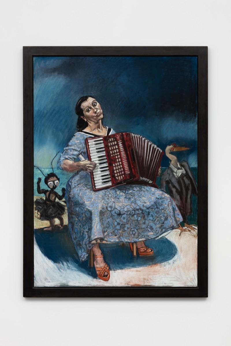 Paula Rego, La Fête, 2003, pastel on paper mounted on aluminum, 170 x 120 cm (66 7/8 x 47 1/4 in). Photo © Andrea Rossetti