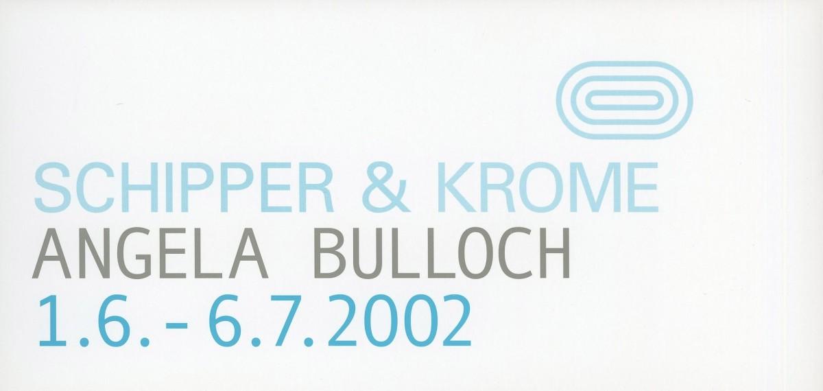 Original exhibition invitation