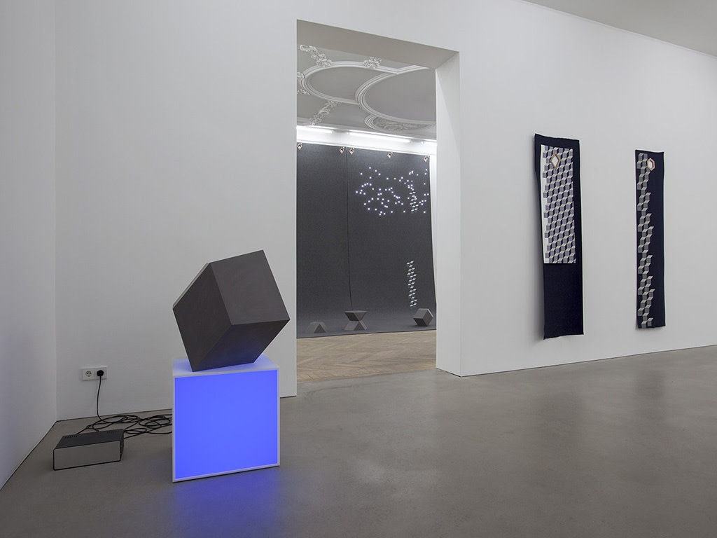 Exhibition view: In Virtual Vitro, Esther Schipper, Berlin, 2014. Photo © Andrea Rossetti