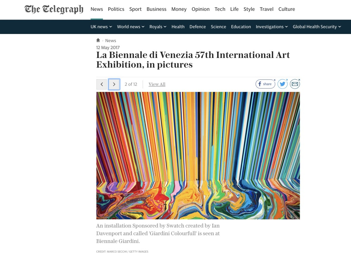The Telegraph: The Venice Biennale