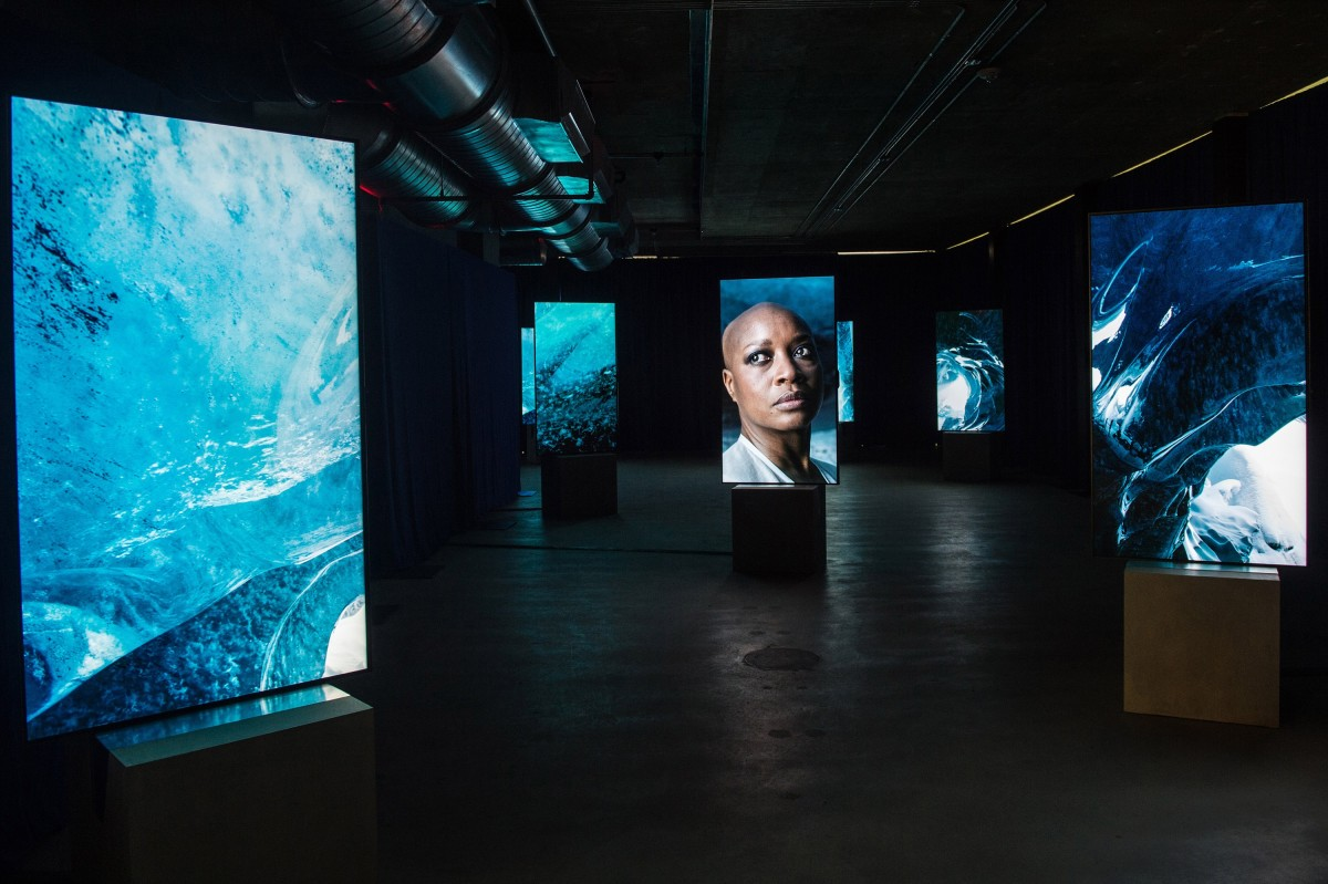 Installation Image Of Stones Against Diamonds By Isaac Julien For The Rolls Royce Art Programme