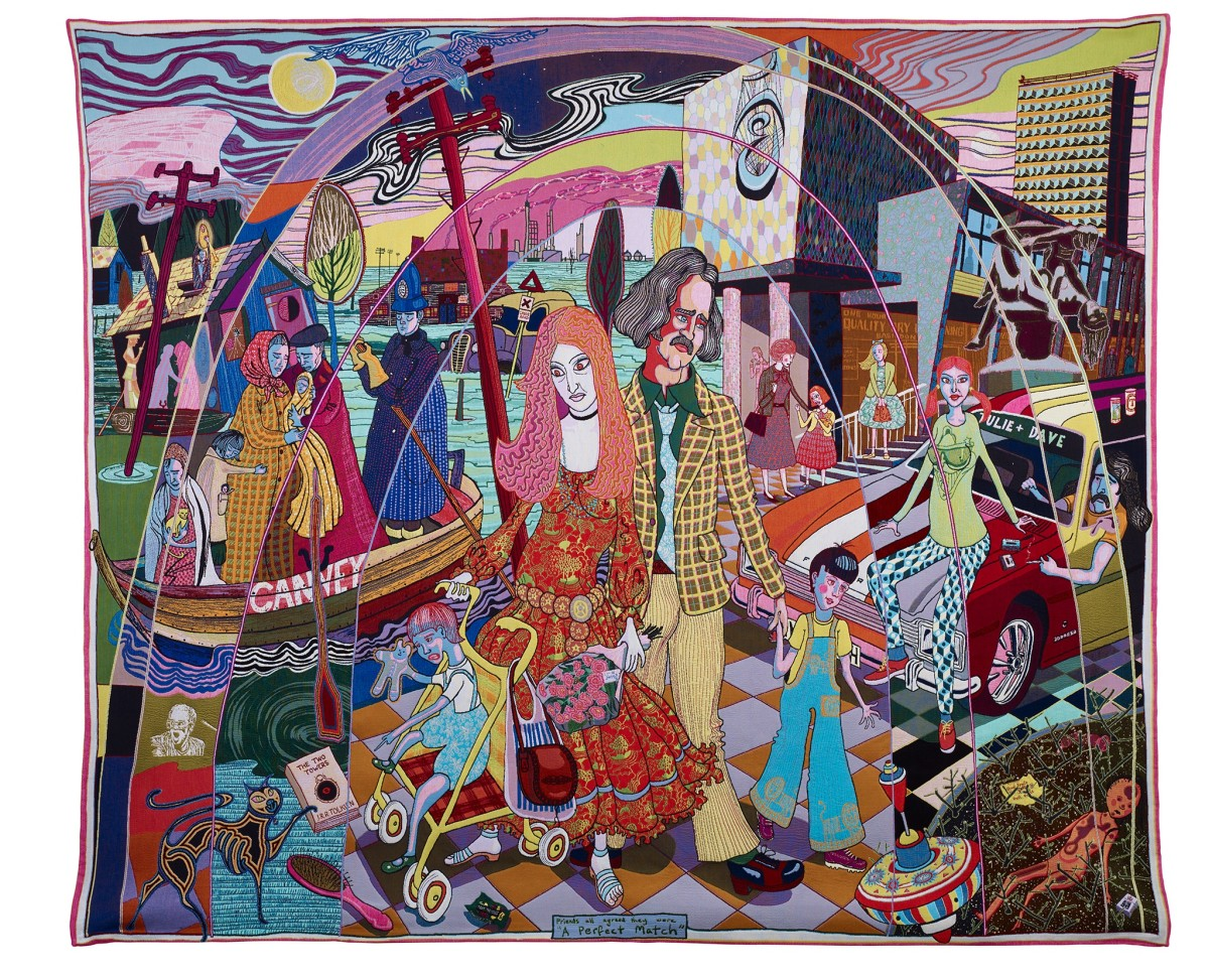 Grayson Perry Hold Your Beliefs Lightly At Aros Museum