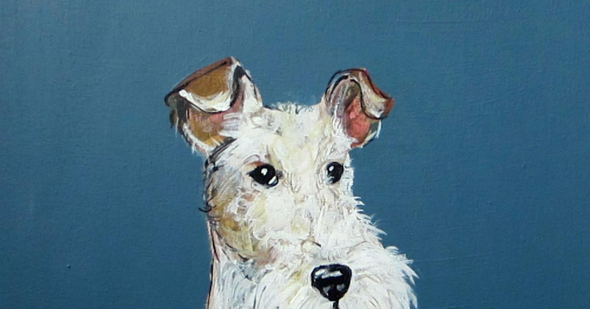 Robert Clarke, Wire Haired Fox Terrier | Cricket Fine Art